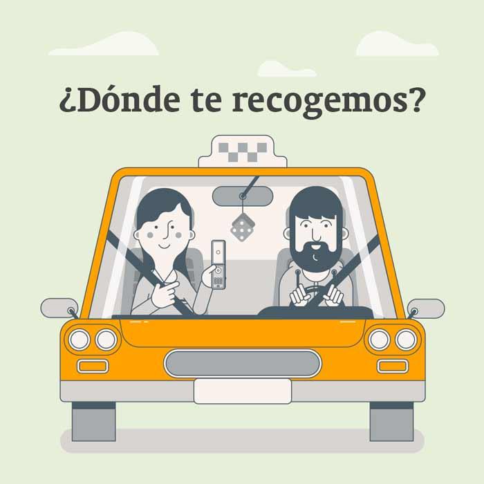 Reserva de taxi en el aeropuerto de Jerez